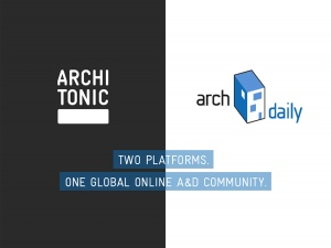 ARCHITONIC X ARCHDAILY: Welcome to the world s largest online A&D community.